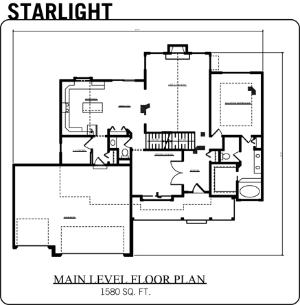 Starligh Floor Plan Homes By Fleetwood