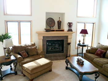 living room by homes by fleetwood